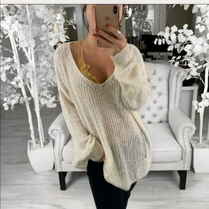 Reposh distressed sweater
